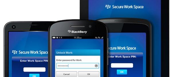 EMM multiplataforma de BlackBerry