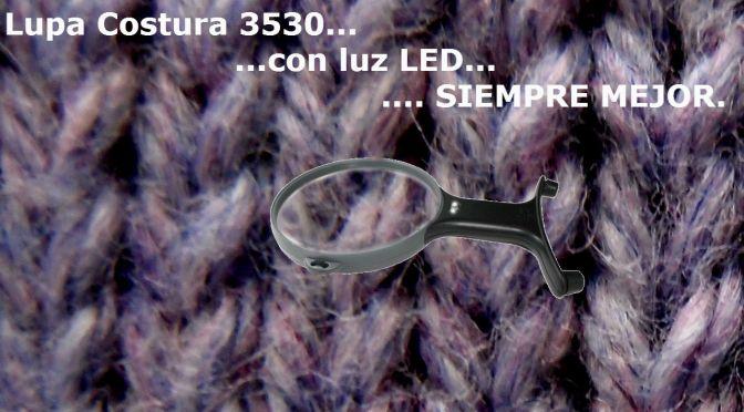 LUPA 3530… CON LUZ LED