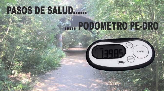 Podómetro Pe-DRO, calidad en el bolsillo.