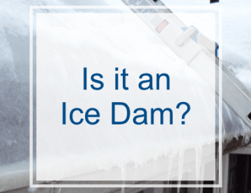 Is it an ice dam?