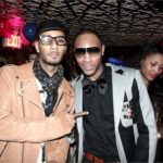 Andre King with his brother Producer Swizz Beats