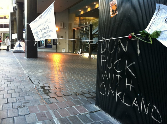 Don't fuck with Oakland.