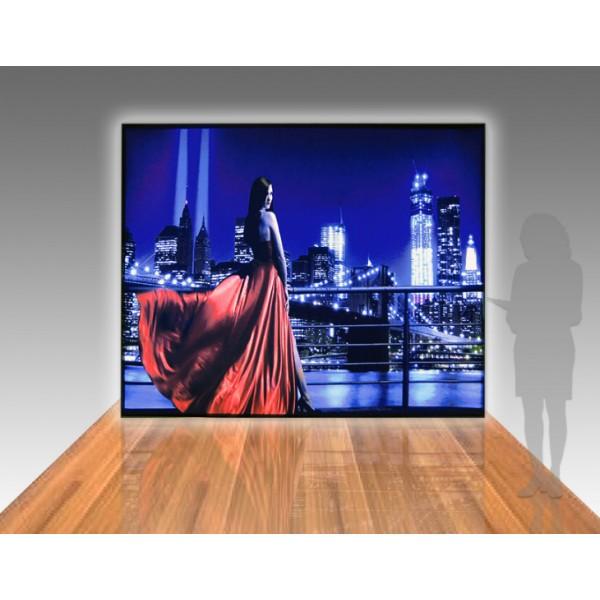 120 X 96 10ft Modular Lightbox Trade Show Display