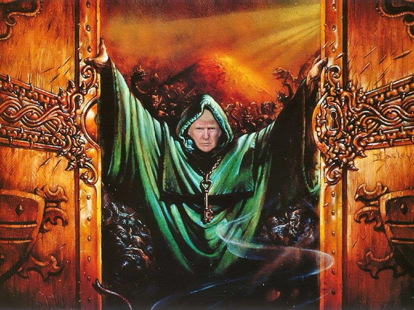 Dungeon Master Donald Trump
