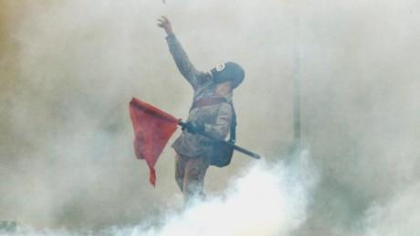 German media spins smoke inhalation...