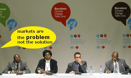 """Markets are the problem, not the solution"" Activists evicted from closing plenary of Barcelona climate talks"