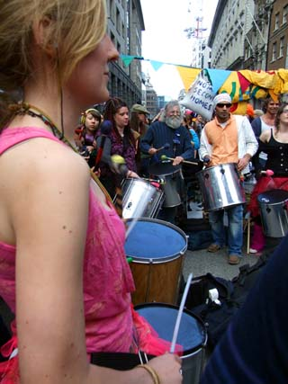 Rhythmns of Resistance in action.