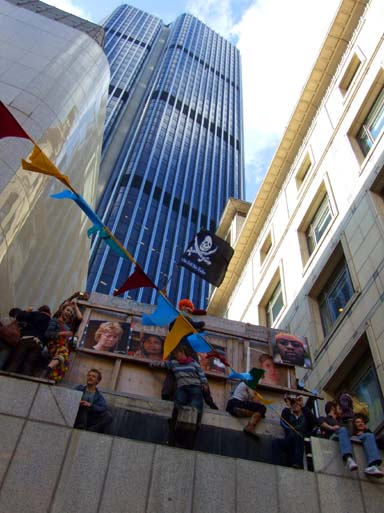 Piracy is rife in The City of London it would seem...