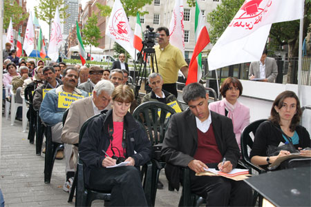Press Conference for release of 36 Ashraf residents in Iraq