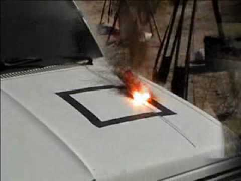 Airplane Laser Hitting Truck!