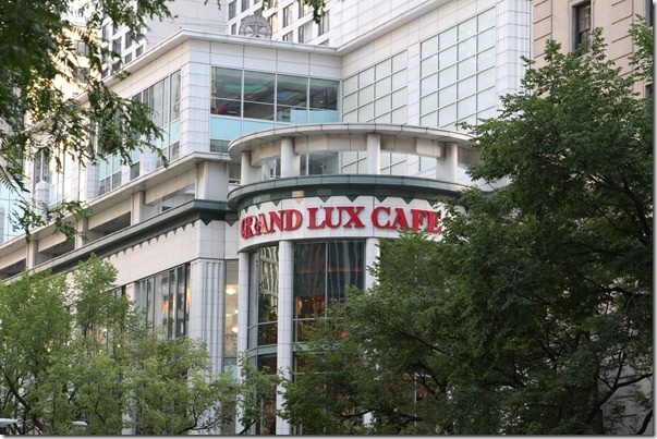 Chicago – Grand Lux Cafe