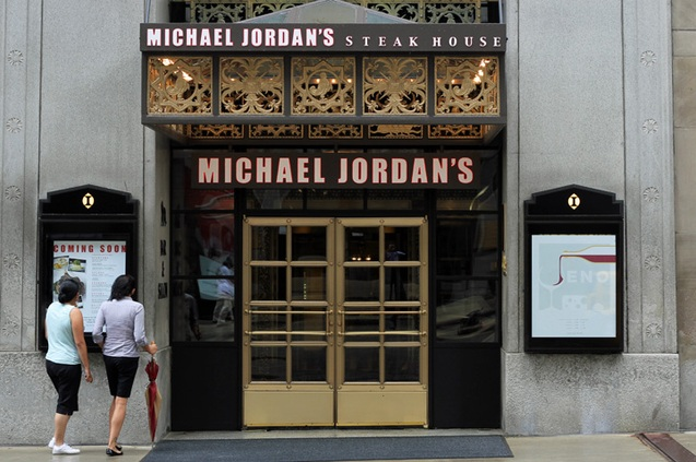 Chicago – Michael Jordan's Steak House (Bar)