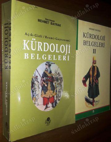 Mehmet Bayrak'ın resmi belgelerden derleyip hazırladığı iki Kürdoloji kitabı.jpg
