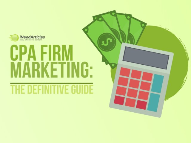 CPA Firm Marketing: The Definitive Guide