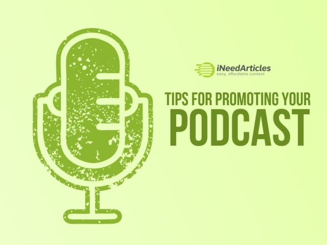 Add title Tips For Promoting Your Podcast
