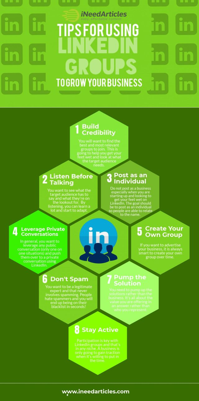 Tips For Using LinkedIn Groups To Grow Your Business