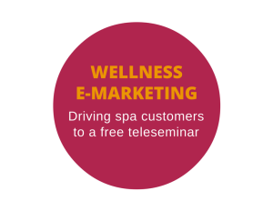 Email marketing for a wellness company