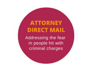 Direct mail letter for a criminal defense attorney