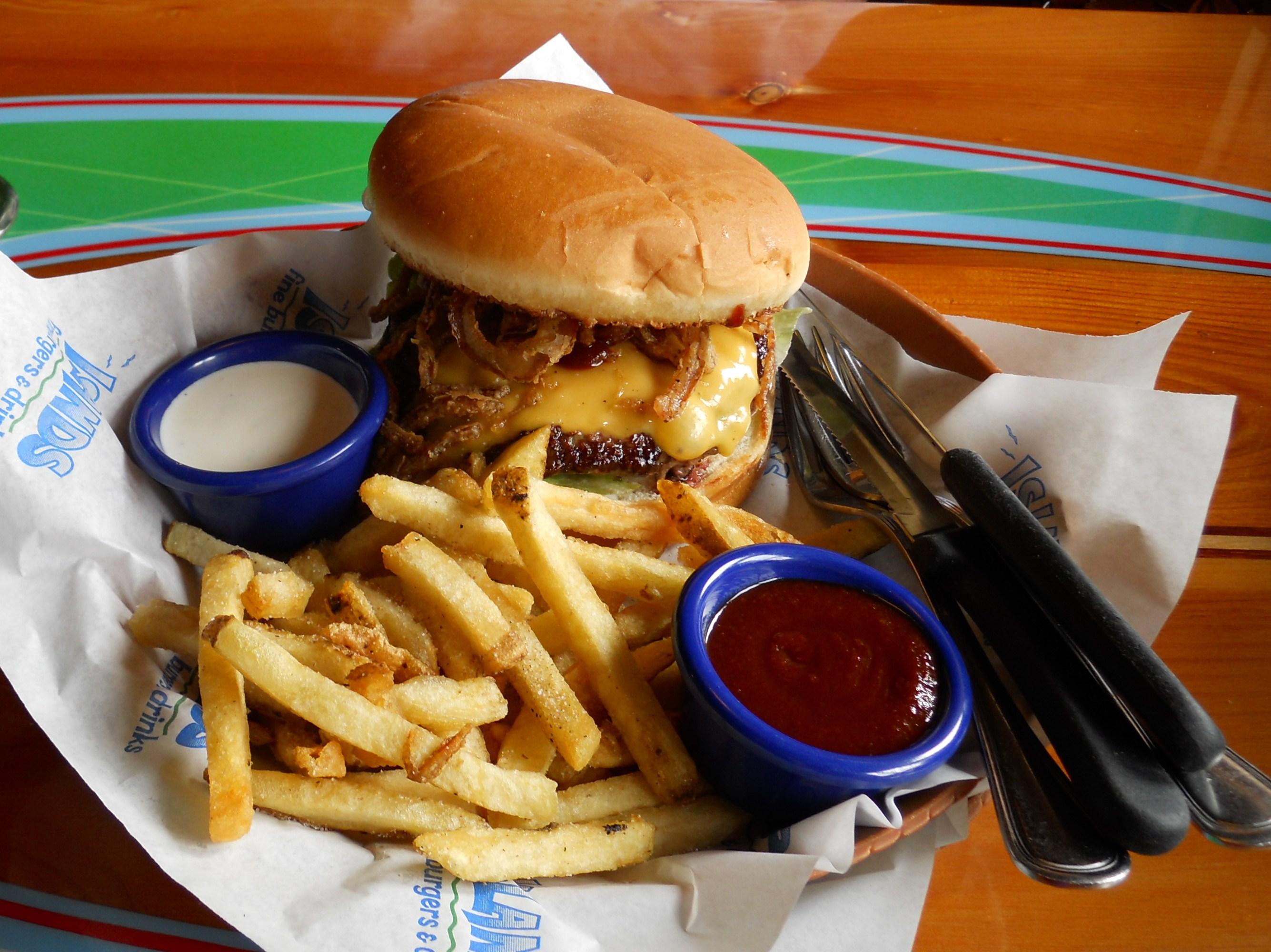 islands burger