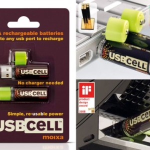 USBCELL AA Rechargable Battery - 2 Cell Pack12