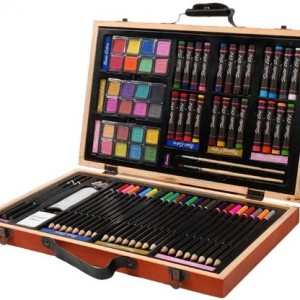 Darice 80-Piece Deluxe Art Set2