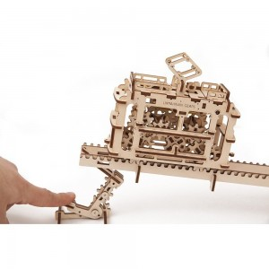Tram Mechanical 3d Puzzle12