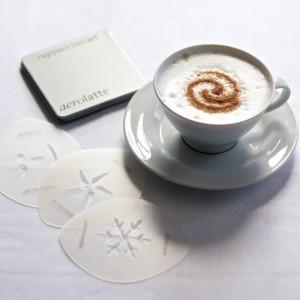 Aerolatte Cappuccino Art Stencils123