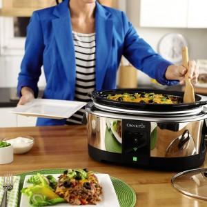 Crock-Pot Smart Wifi-Enabled WeMo 6-Quart Slow Cooker1