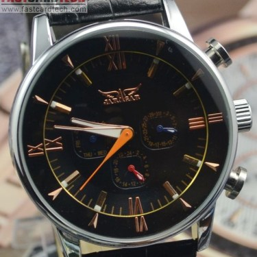 Elegant Stainless Steel Jaragar Watch J111