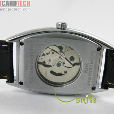 Elegant Winner Rectangle Automatic Watch J177