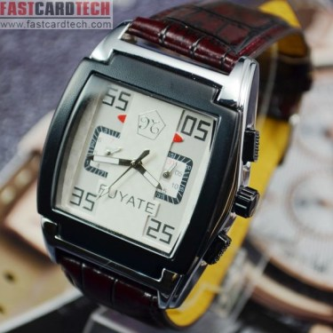 Elegent Square Automatic Watch Fuyate J169