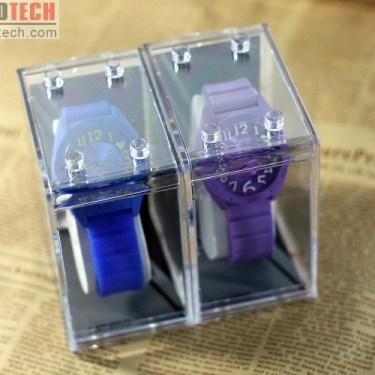 MINISO Analog Jelly Watch Casual Wristwatch