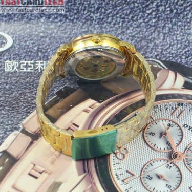 Men Automatic Male Stainless Steel Watch