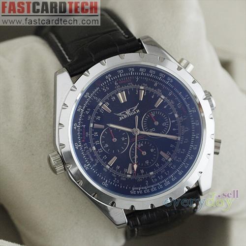 Silver Jaragar Watch