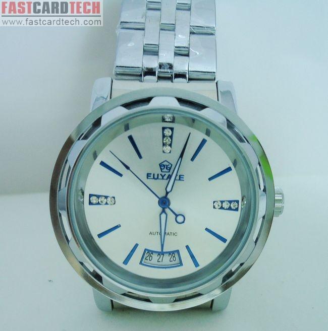 Stainless Steel Luxury Wrist Watch Fuyate J131