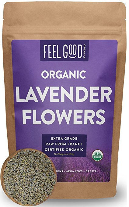 Organic Lavender Flowers (Extra Grade – Dried)