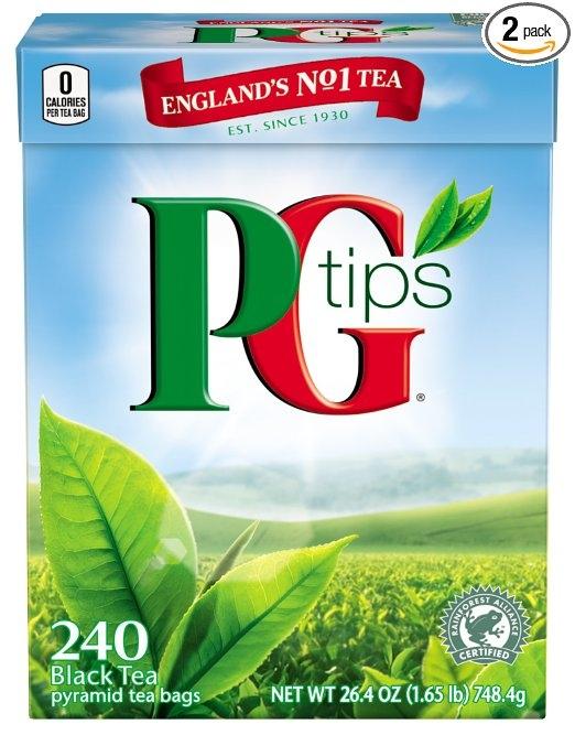 PG Tips Black Tea Pyramid Tea Bags