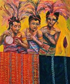 Mixed Media on Canvas $650