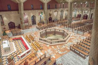 Bazylika Zwiastowania w Nazarecie, grudzień 2014
