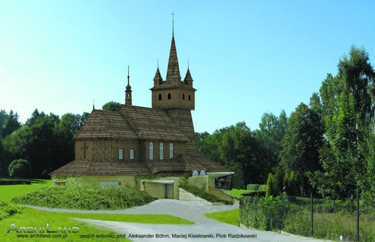 Kościół NMP Królowej Polski, Wola Justowska w Krakowie