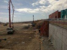 Construcción de muro de hormigón armado presupuesto en Alicante