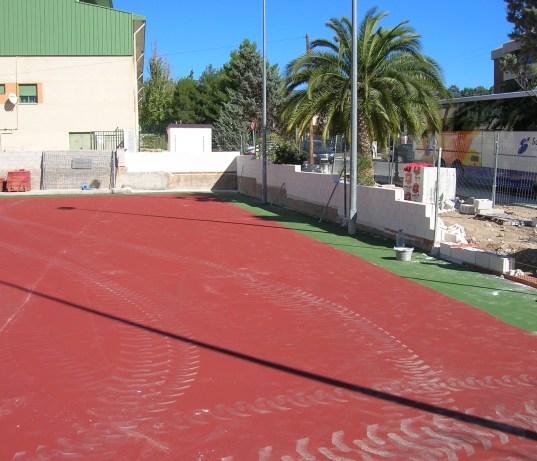 Construcción de pistas deportivas, pistas de pádel, pistas de tenis, etc.
