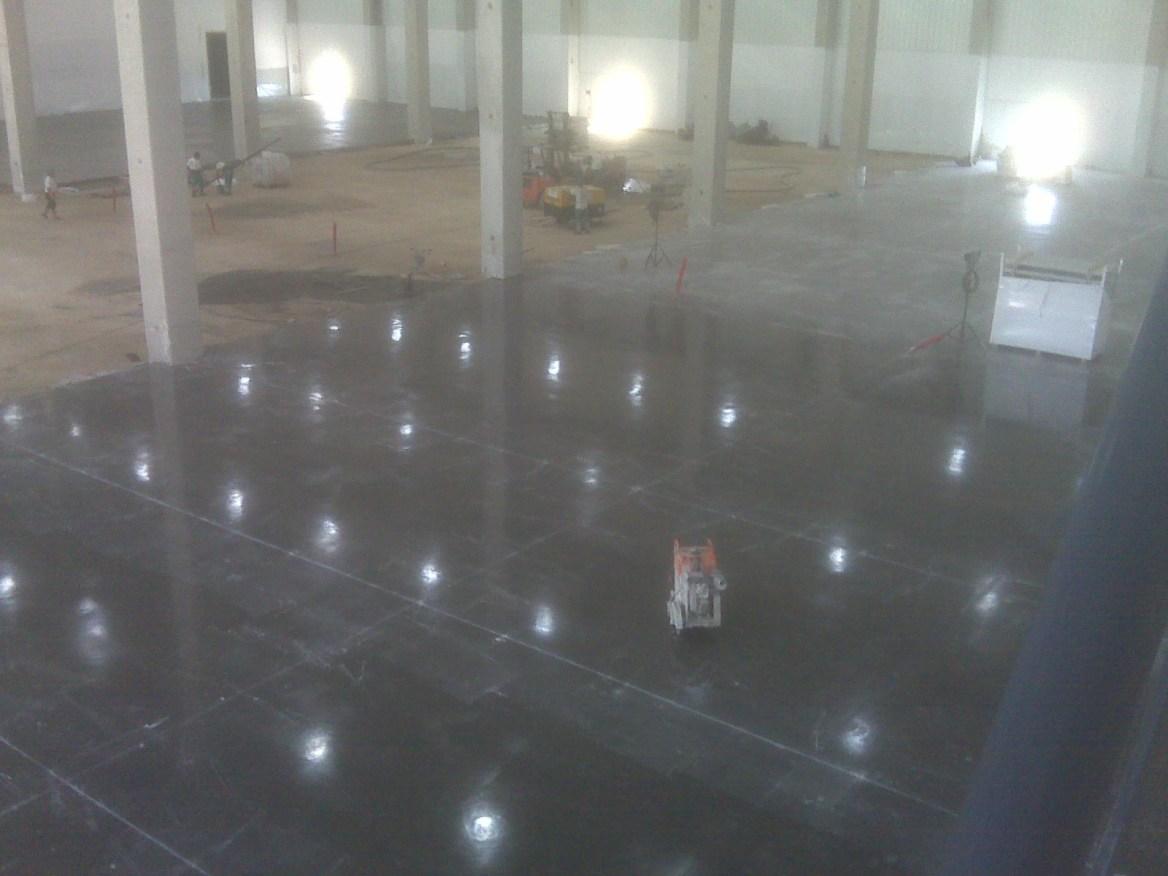 Construcción de pavimentos industriales para naves industriales presupuesto en Alicante