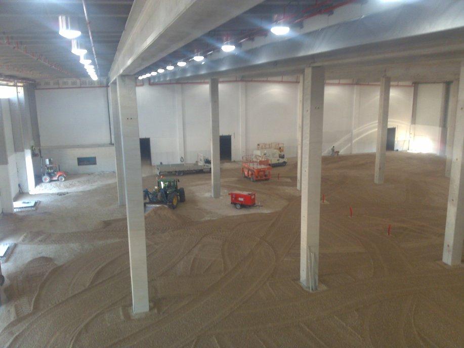Construcción de pavimentos industriales para naves industriales precio en Alicante