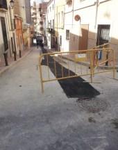 Obras de reparación de canalizaciones de servicios públicos
