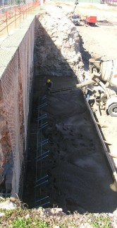 construcción de muros cerramiento parcela en alicante
