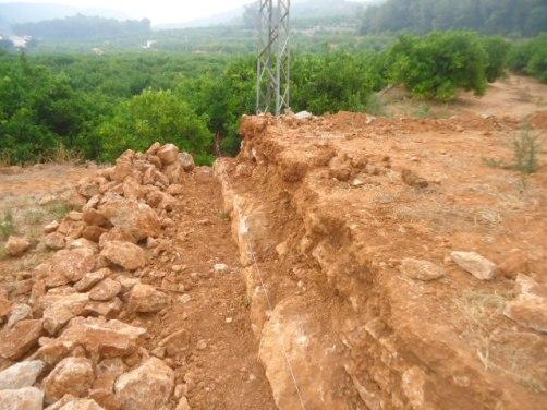 Construcción de muros de piedras fabrica presupuesto en Alicante