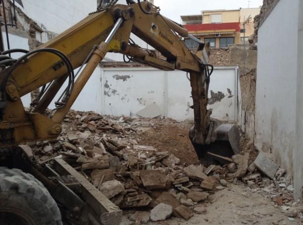 Empresa de demolición de viviendas en Alicante presupuesto