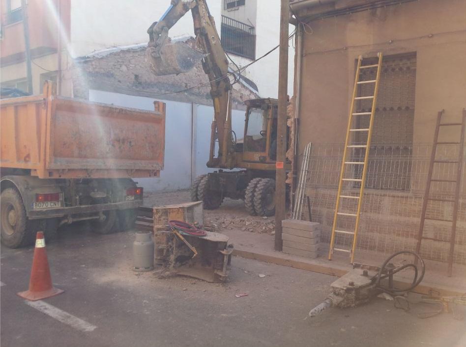 Empresa de demolición de casas en Alicante precio