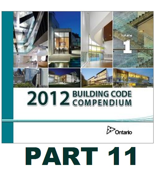 Part 11 Ontario Building Code